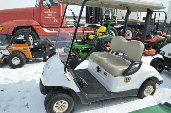 '08 Yamaha golf cart YDRA 50cc, gas, (nice)