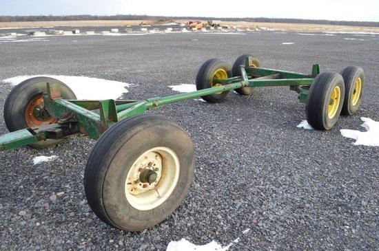 Badger running gear w/ tandem axle