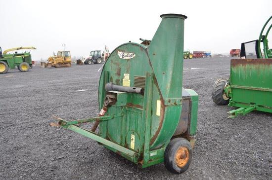 Badger forage blower w/ 1,000 PTO