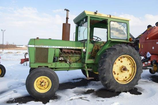 JD 3130 w/ Sims cab, 2 remotes, 540/100 PTO, 18.4-34 rear rubber