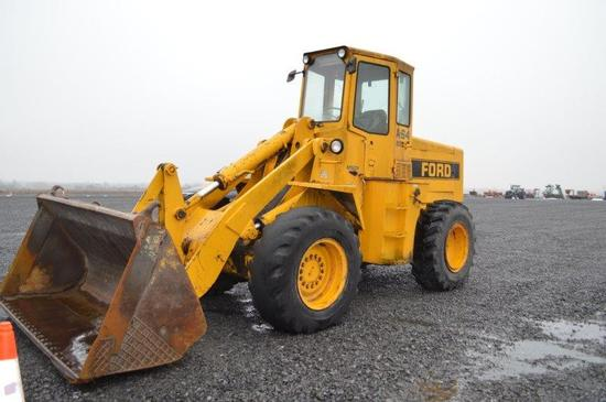 Ford A-64 payloader w/ 8' material bucket, 17.5-25 rubber