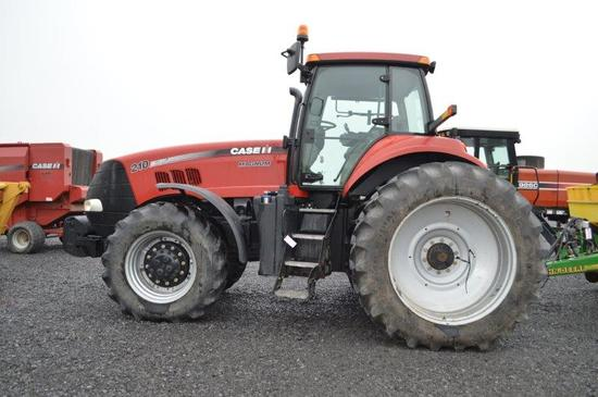 '13 CIH Magnum 210 tractor w/ 1,035 hrs, 16 speed power shift w/ left hand