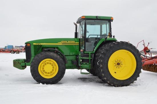 '04 JD 8210 w/ 8,864 hrs, 16 speed power shift, 4wd, 18.4R46 rear duals, in