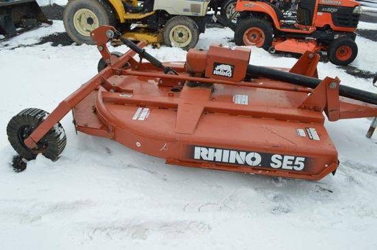 Rhino SE5 5' rotary mower, 540 PTO