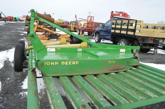 JD 717 7' rotary mower, 3pt, 540 PTO
