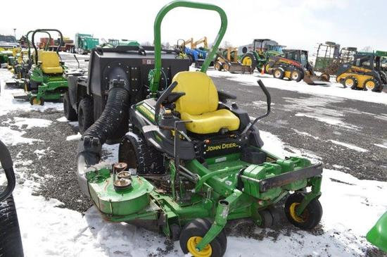 '16 JD Z950M Zero turn, w/ 1,341 hrs, 60'' deck, gas, bagging system, front