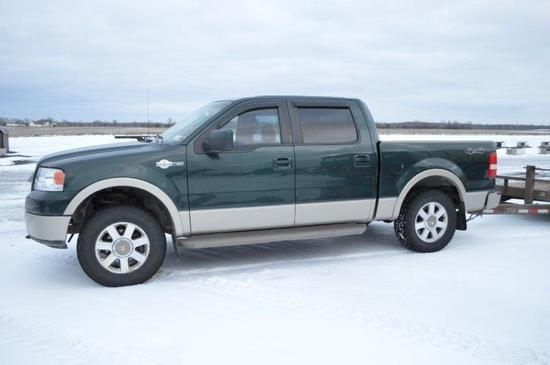 '08 Ford F150, King Ranch w/ 76,105 miles, automatic, 4 door, 4wd, 5.5' bed