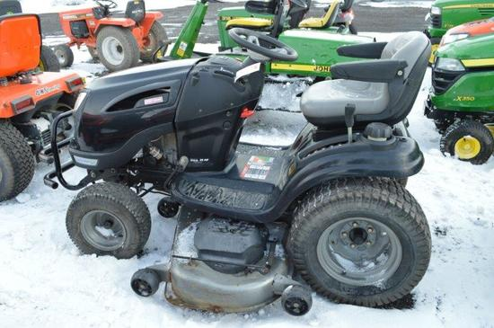 Craftsman riding mower w/ Kohler 26 hp engine, 386.4 hrs, 1''-7'' cut heigh