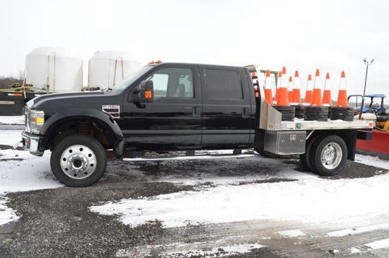 '08 Ford F450 pickup w/ 4wd, Cummins motor, 135,046 miles  automatic, 4 doo
