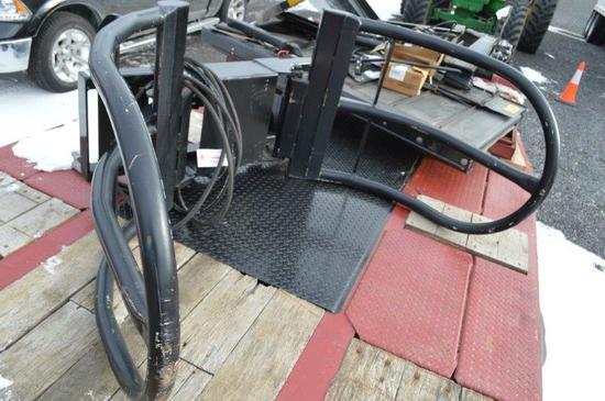 HLA BG3000 AVL heavy duty bale grabber (Horst Manufacturing)