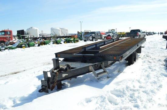 '06 Rolling Star 8'x18', heavy duty, tilt deck trailer w/ tandems, pindel h