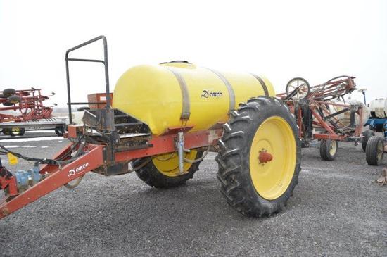 Demco HP 44' sprayer w/ foam marker, 500 gallon poly tank, 13.6-38 tires