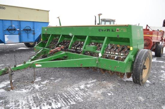 """Great Plains 1300 Solid Sand grain drill, 13' 5"""", Packer hitch"""