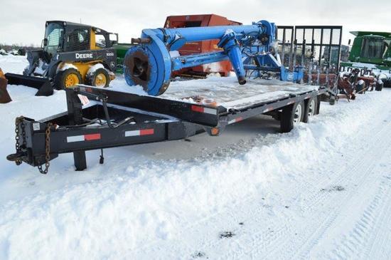 '14 G.V.W.R. 13,800 Cam Superline, deck over, equipment trailer, VIN# 5JPBU