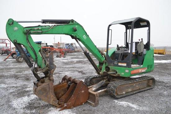'09 Bobcat 329 mini excavator w/ 3,120 hrs, hyd. thumb, 1' rubber tracks, d