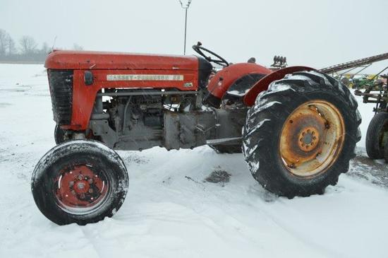 Massey Ferguson 50 tractor w/ 5,335 hrs, 3 pt, 540 PTO, 136/12-20 rear tire