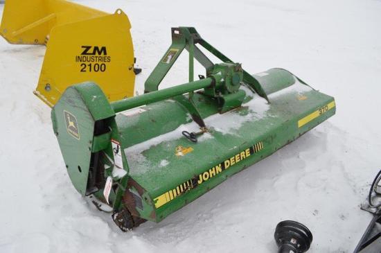 JD 370 6.5' 3pt Flail mower w/ pto