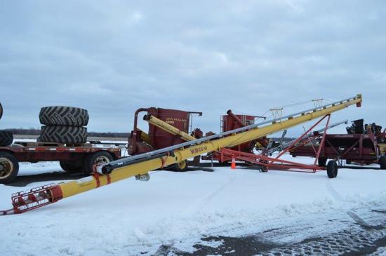"Westfield WR100-61 10"" x 61' grain auger, PTO (like new)"