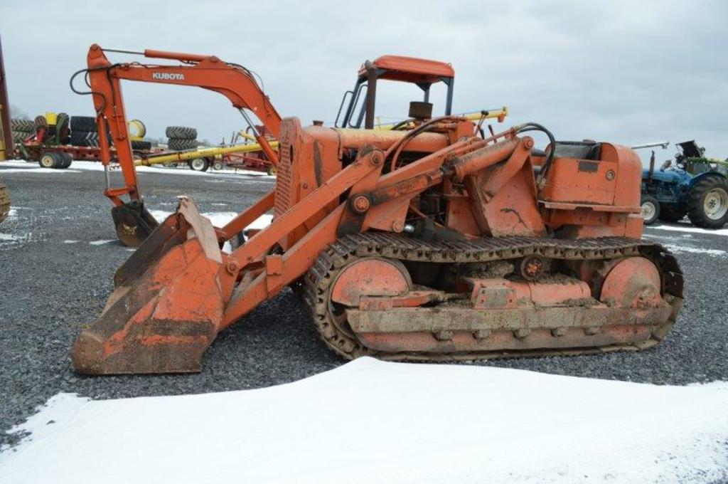 (Approx 1950) Allis Chalmers HD5 G crawler w/ front end loader