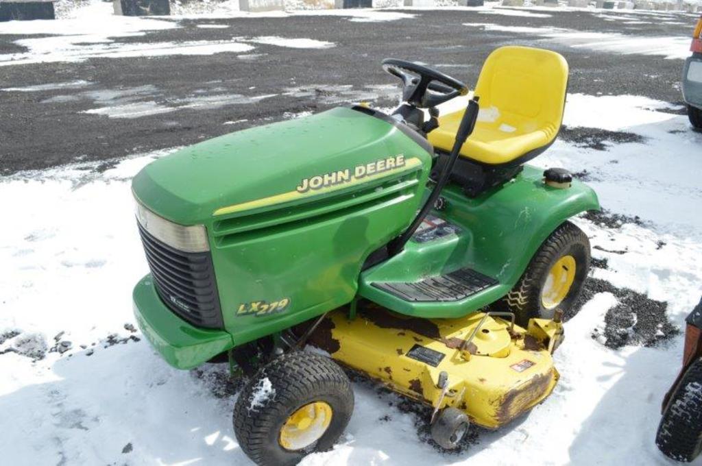 """JD LX279 lawn mower w/ 54"""" deck"""