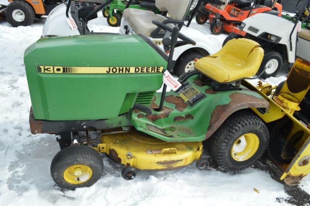 "JD 130 lawn mower w/ 30"" deck"