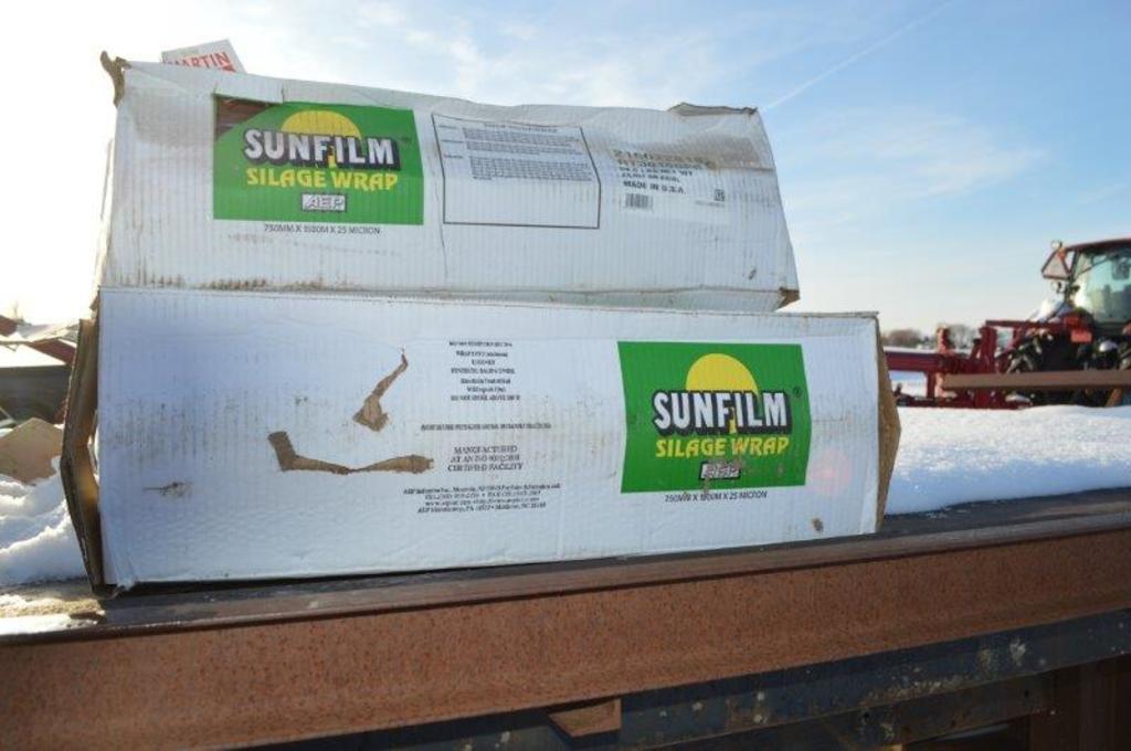 Sunfilm silage wrap