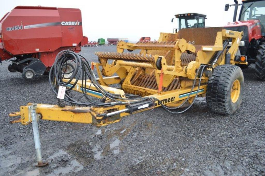 Vermeer RP6084 heavy duty high dump rock picker w/ hyd controlls,