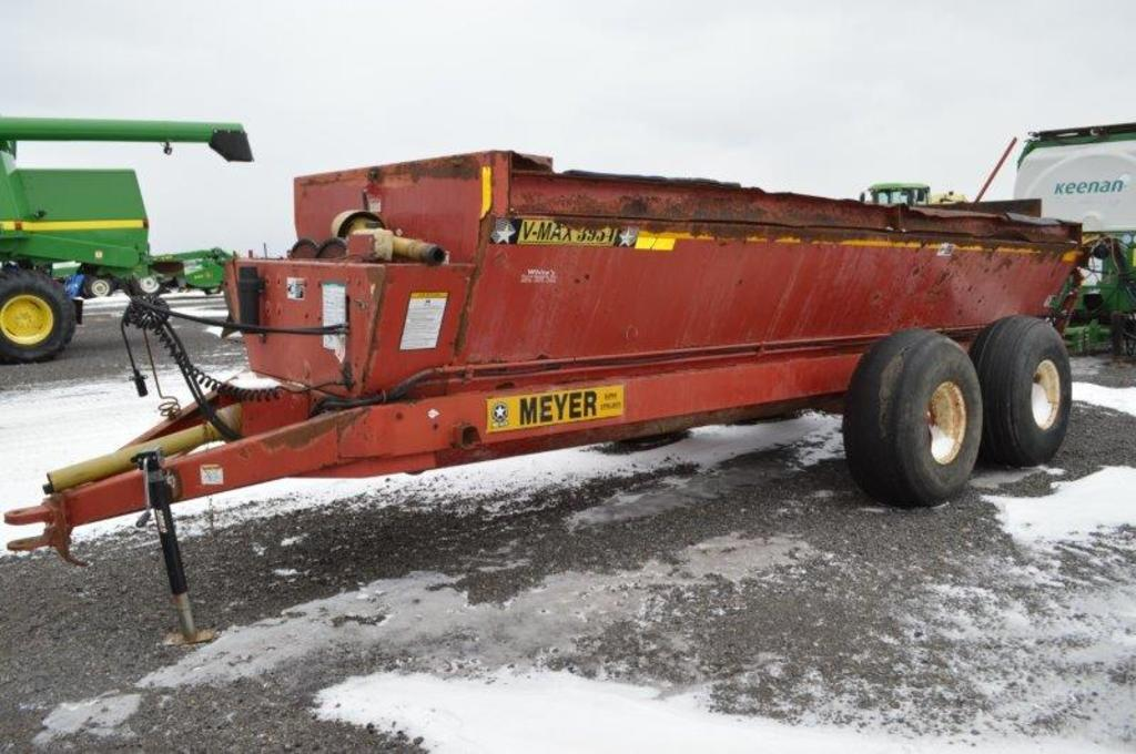 Meyers 3954 rear spreader w/ rear vertical beaters