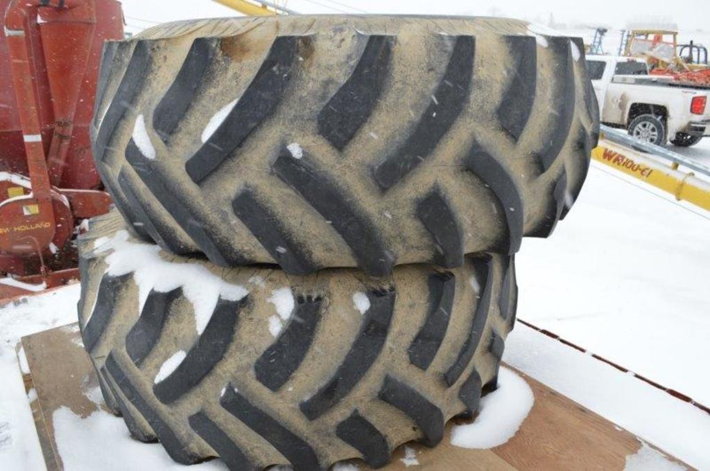 23.1-26 Tires and JD rims, 12 lug