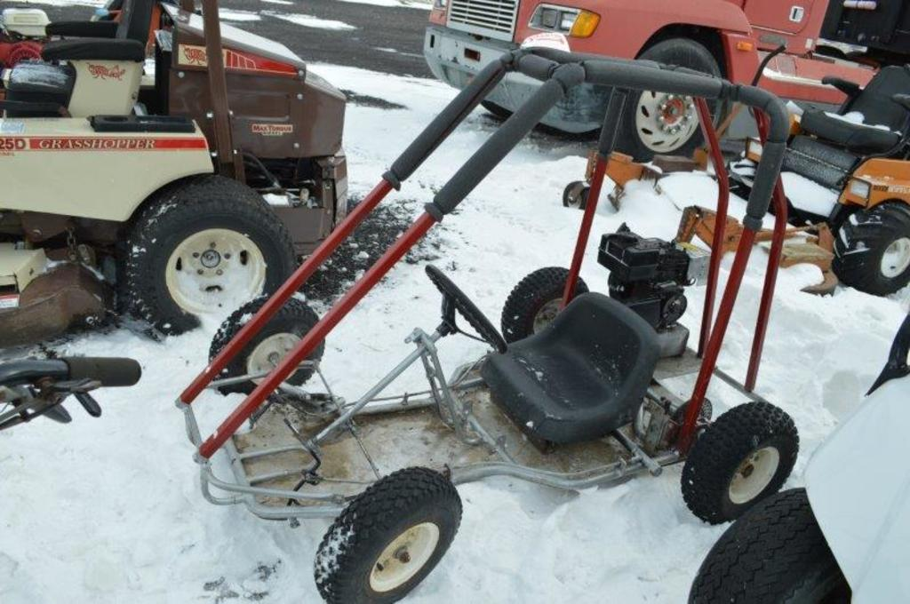 Go cart w/ motor