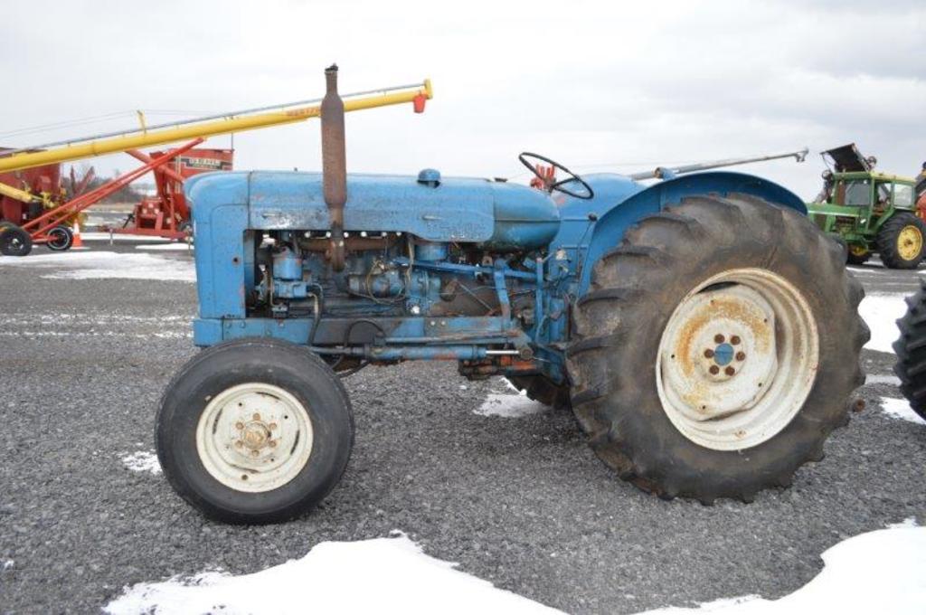 '57 Fordson New Major tractor w/wide front, 4 cylinder, diesel, 3pt, 540 PT
