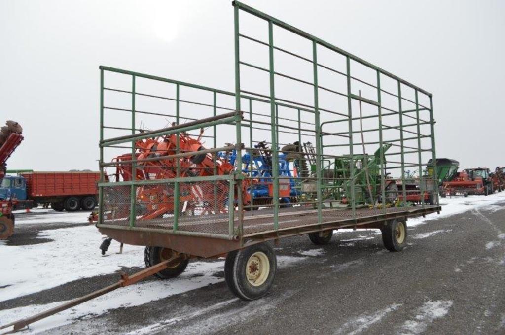 Steel 9'X18' kicker wagon w/ gear