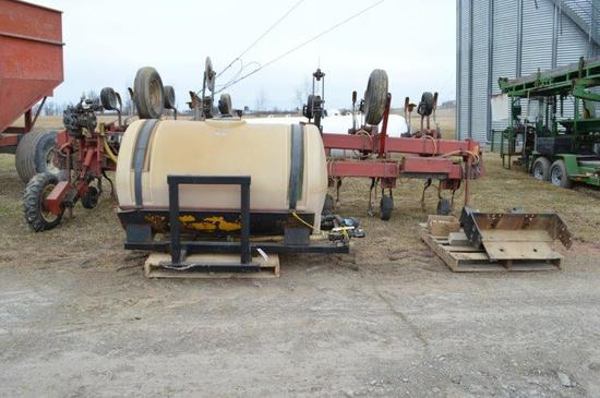 Case 1830 12 row Culivater/Applicator w/300 gallon tank and fram
