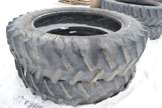2-  420/80R46 Tractor tires