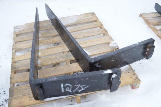 Set of Large pallet forks