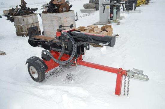 Troybuilt log splitter