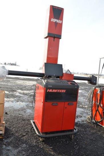 Hunter alignment machine 8LL-600VSP, camera sensors