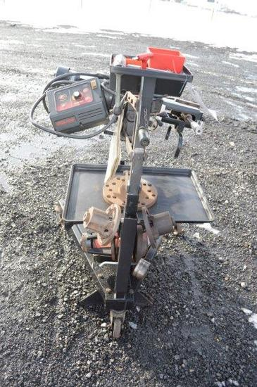 Hunter OCL400 on the car brake lathe w/ attachments