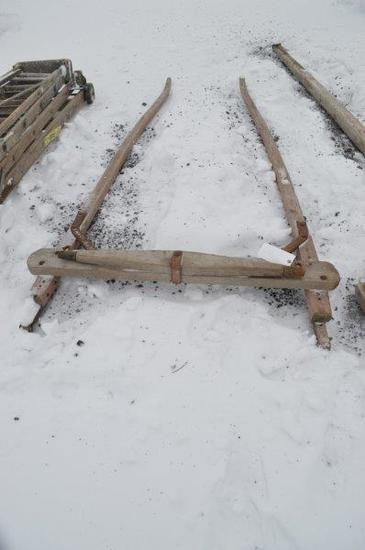 single horse fills for wagon or bobsleigh