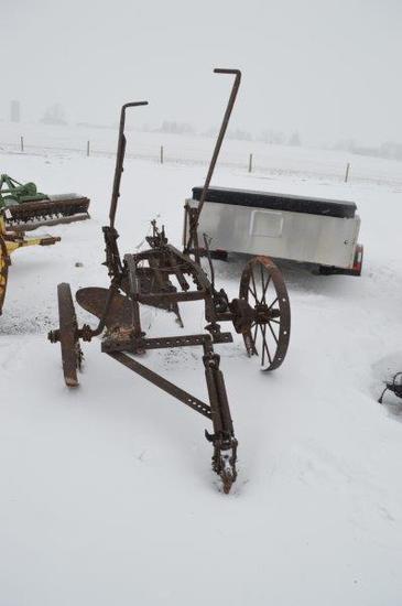 2 bottom antique trip plow