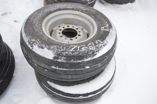 2-9.5L-14 Tires w/ 6 bolt rims