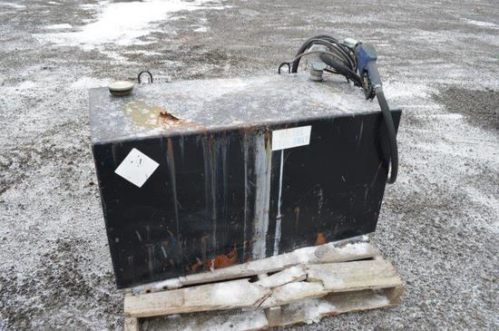 100 gallon fuel tank w/ Proven Choice electric pump