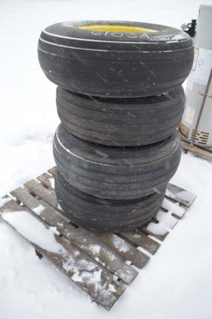 4- 6 bolt 11L-15L tires