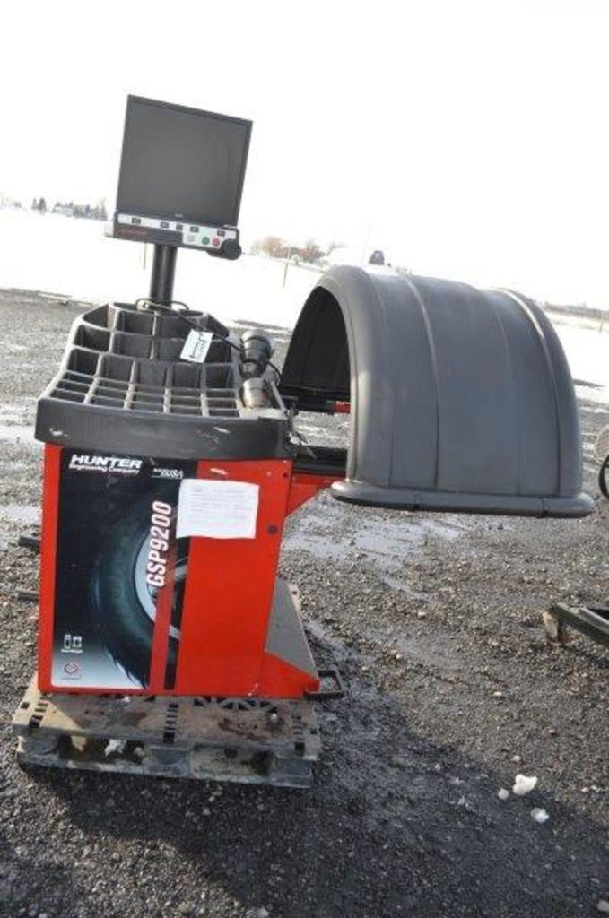 Hunter Engineering Smart Weight balancer w/ cones GSP9200