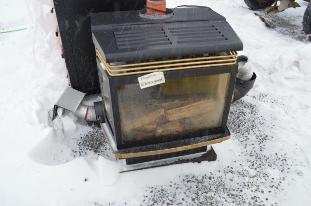 Hunter Tech propane stove