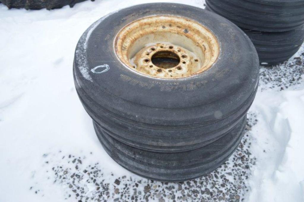 2- 9.5L14 Tires w/ rims