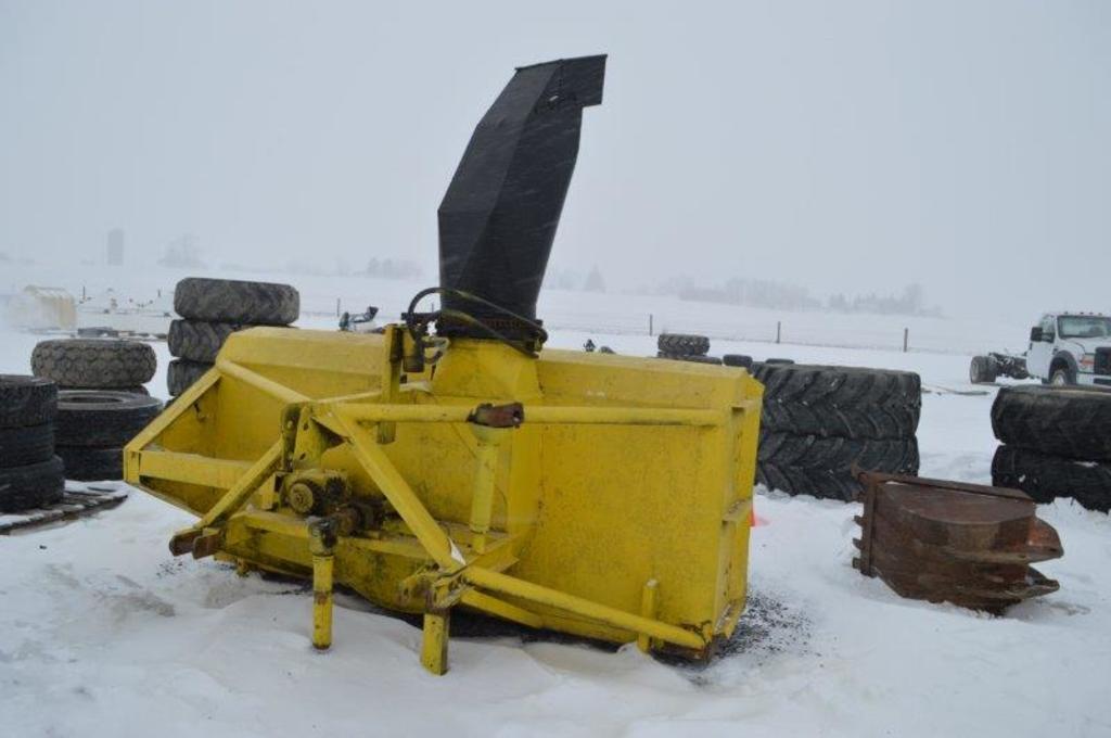 8' 3pt. PTO drive snow blower