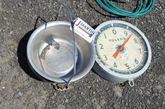 Meat/vegetable scales