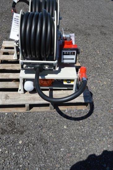 AC 110 volt diesel pump w/ filter & switch, 50' hose