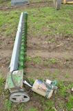 12' sweep auger  for 24' bin w/ Baoldof Reliencer 1hp electric motor